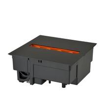 DIMPLEX Cassette 250 Foyer noir encastrable électrique Opti-myst®