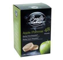 Pommier 48 bisquettes à fumer pour fumoir Bradley
