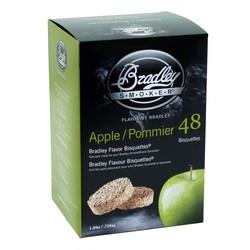 Pommier 48 bisquettes à fumer Bradley