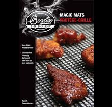 4 silicone grill beschermingsmatten voor de Bradley smoker