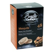 Mesquite 48 bisquettes à fumer pour fumoir Bradley