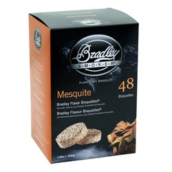 Mesquite 48 smoke bisquettes Bradley