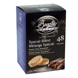Special Blend 48 smoke bisquettes for Bradley smoker