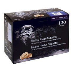 Special Blend 120 smoke bisquettes for Bradley smoker