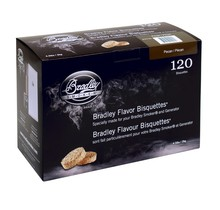 Pecan 120 bisquettes à fumer pour fumoir Bradley