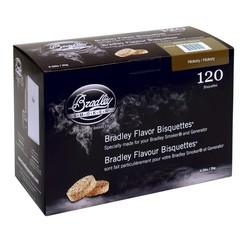 Noyer blanc - Hickory 120 bisquettes à fumer fumoir Bradley