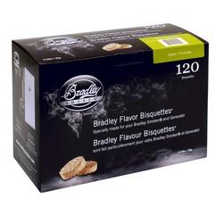 Pommier 120 bisquettes à fumer pour fumoir Bradley