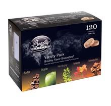 120 rook bisquetten in 5 smaken voor Bradley rookoven