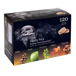120 5-Flavor Variety smoking bisquettes