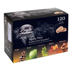 Pack aux 5 essences 120 bisquettes