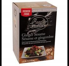 48 Sesam-Gember premium rook bisquetten voor Bradley rookoven