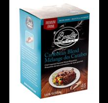Mélange des Caraïbes Premium 48 bisquettes à fumer pour fumoir Bradley