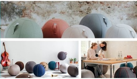 VLUV! ergonomic seating ball