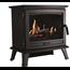 Glen Dimplex DIMPLEX Sunningdale noir Poêle décoratif chauffant en métal - imitation buches, flammes et crépitement