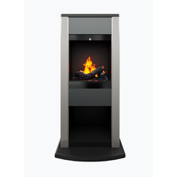 Opti-myst® Cubic free-standing fireplace