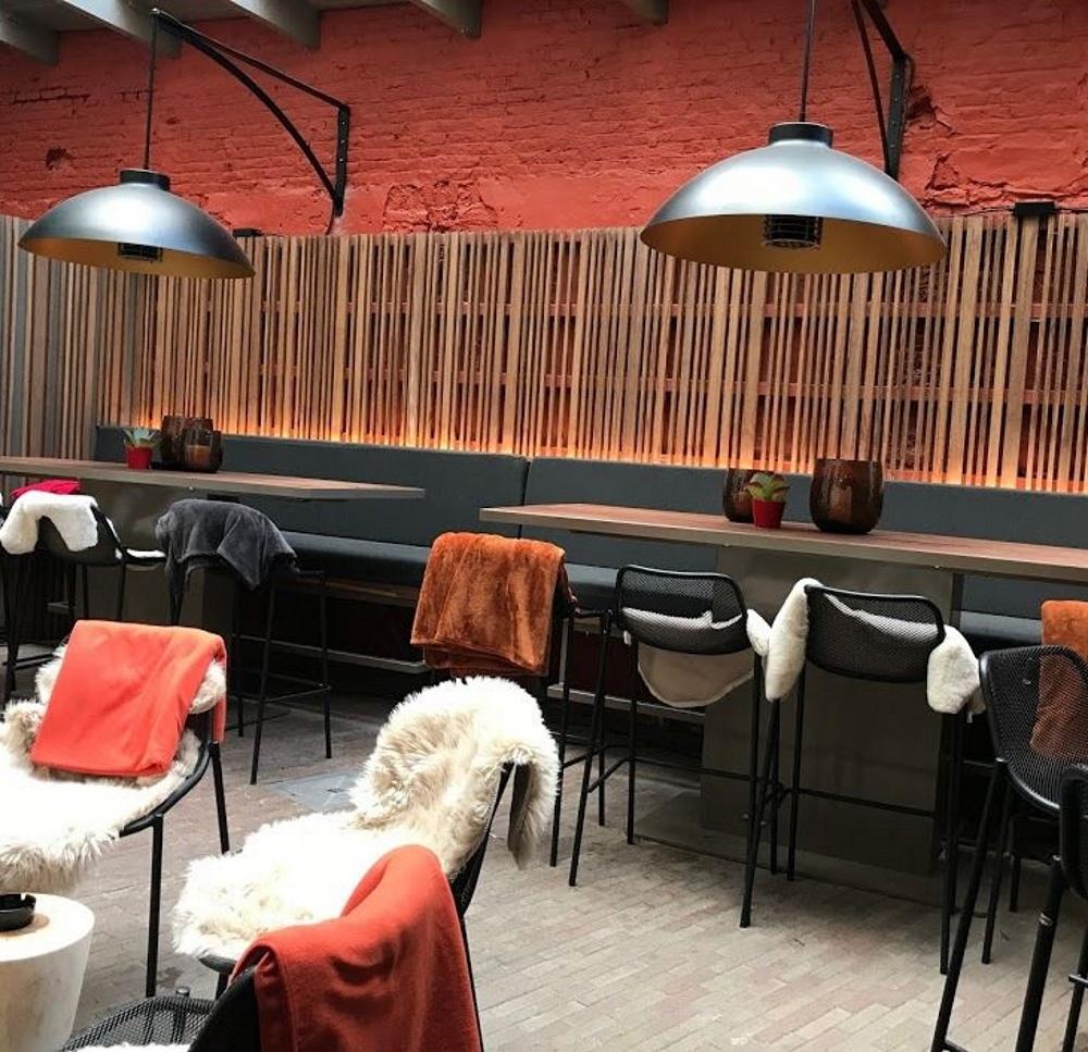 Dome Mural Lampe Chauffante D Exterieur Heatsail Vinuovo