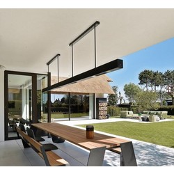 Heatsail BEEM® terrasverwarmer hangend