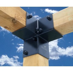 3-way Corner bracket for pergola