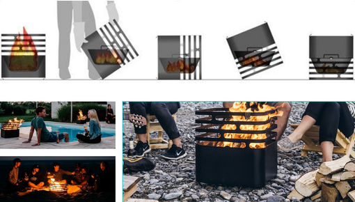 Brazier, an aditionnal heating and barbecue for your outdoor