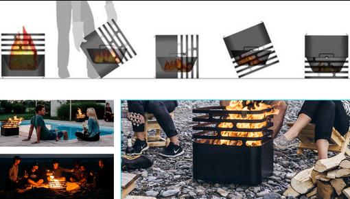 Design vuurkorf - brasero en tevens barbecue