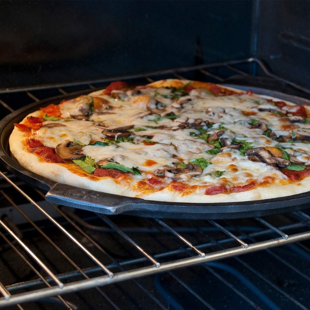 Comment Fabriquer Une Plancha pizzacraft plancha et plaque à pizza en fonte Ø35cm - pizzacraft