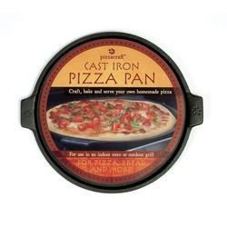Pizza en plancha plaat van gietijzer Ø35cm