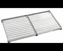 Cubic outdoor door mat and grid 80x40 cm in galvanized steel - PLUS