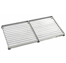 deurmat-deurrooster 80x40 cm (2 roosters van 40x40cm) in gegalvaniseerd staal