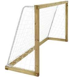 Football goal wood 240x128 with net