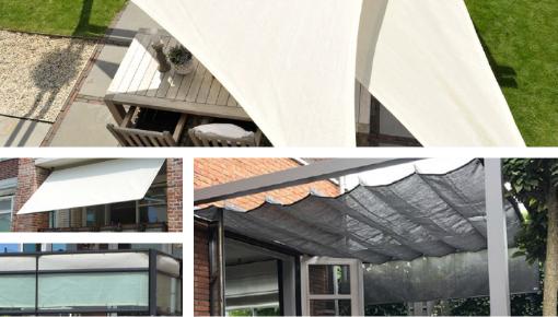 Schaduwdoek, pergola of parasol, houd uw zelf koel deze zomer!