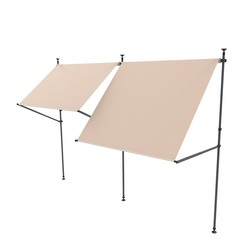 Connection Frame for balcony sunshade - Nesling