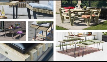 PLUS design picknicktafels