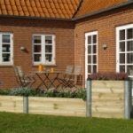 hoge Planter en kruidentuin PLUS PIPE