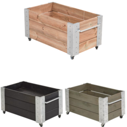 Cubic rectangular planter 87x50x45cm - low model
