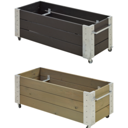 planter 120x50x45cm - rectangular low model