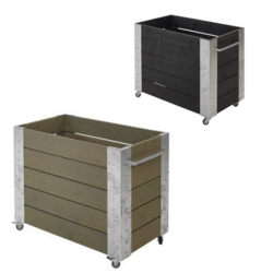 planter 87x50x70cm - rectangular medium high model
