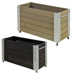 planter 120x50x70cm - rectangular medium high model