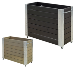 planter 120x50x95cm - rectangular high model