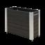 Plus Danemark Cubic bac à fleur rectangulaire 120x50x95cm et mobile avec cornières galvanisées et roulettes