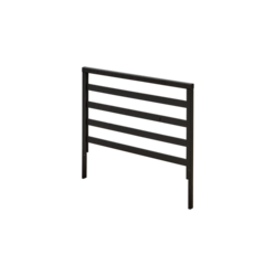 Black-line trellis-lattrice 90x58cm