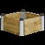 Plus Danemark PIPE planter square model 6 80x80x36cm