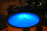 spa Softub relax et detente pour by night