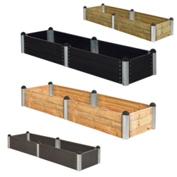 PIPE planter rectangular model 10