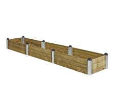 HENRIK BOE planter rectangular model 19 400x80x36cm