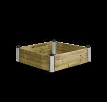 HENRIK BOE plantenbak vierkant model 16 140x140x36cm