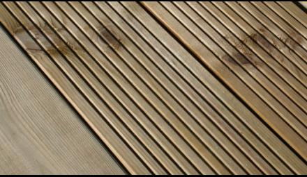 Pressure-treated lumber