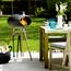 MORSØ Morso Grill Forno II - Barbecue en fonte avec trépied en teck