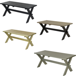 Picnic Table NOSTALGI - PLUS