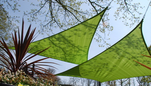 How to mount a nesling shade sail?