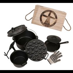 """Set de batterie de cuisine en fonte """"The Windmill Cast Iron"""""""